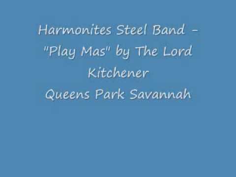 """Solo Harmonites Steel Orchestra Live -Lord Kitchener's """"Play Mas""""(1971)"""