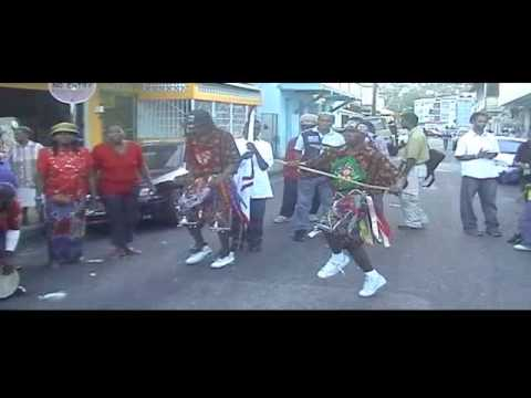 Trinidad Stick Fighting -the drums, the dance, the rhythm