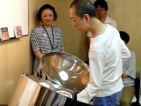 Yoshihiro Harada steelpan solo - Inutil Paisagem スティールパンソロ