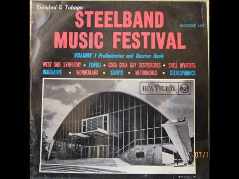 """CoCa Cola Gay Desperadoes Steel Orchestra - Johann Strauss' """"Emperor Waltz (1964)"""