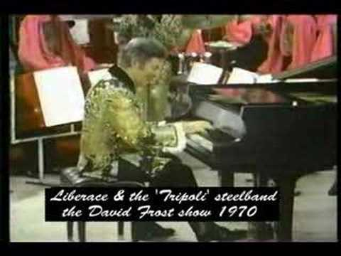 "Trinidad Tripoli Steel Band and Liberace the ""Alley Cat"""
