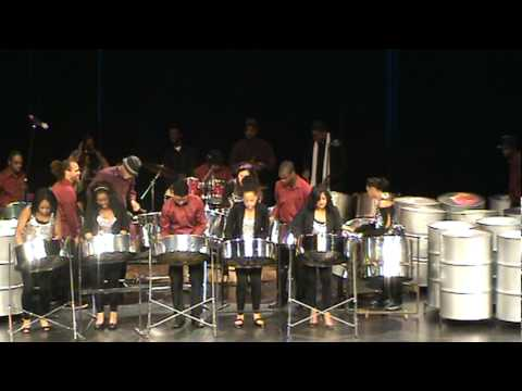 Souls of Steel Orchestra 2012 Andre Rouse Musical Director; Part 2 of Snowflakes on Steel