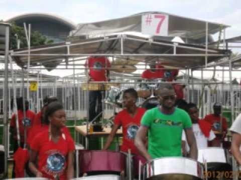 Tobago Pan Thers - Pan In A Minor_Small Prelim Tobago 2012.