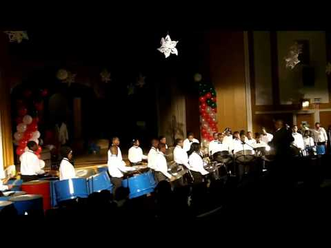 Carol of the Bells - Meyer Levin - 8th grade Steel Orchestra