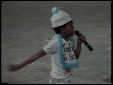 """Too Young to soca"" by Machel Montano live at Dimanche Gras 1986"