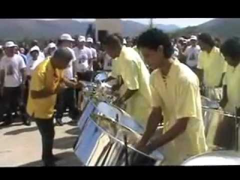 Steel Band Ave María de Shubert - Pope visit to Cuba