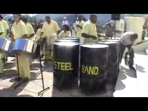 Y si vas al Cobre, Steel Band - Cuba - Pope Visit