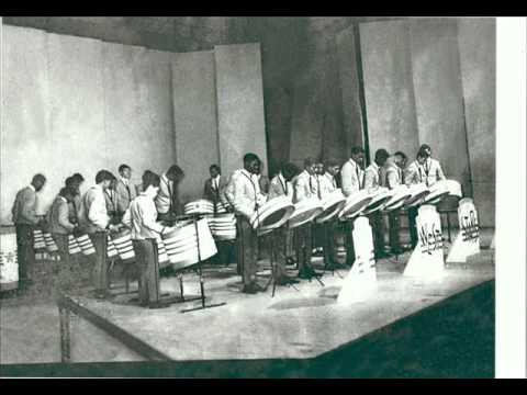 Texaco West Stars Steel Orch. 1966 Pan Music Festival ..wmv
