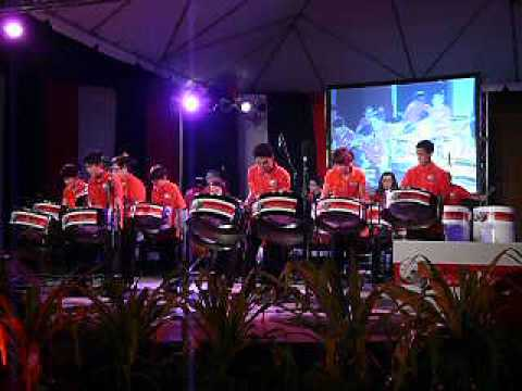 T&T Chinese Steel Ensemble at We Beat 2012 Pan Explosion - The Dragon Boat Song