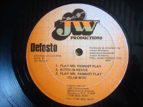 DeFosto   Play Mr Pannist Play