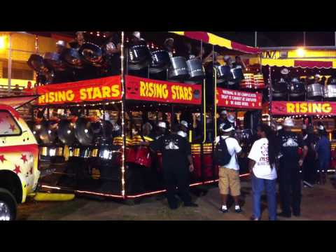 Rising Stars Steel Pan Jam Band Medley 2012