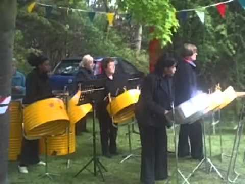 An all Womens Caribbean & UK steelband (The Steelpan is an instrument)