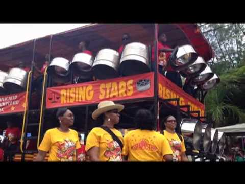 The Rising Stars Youth Steel Orchestra