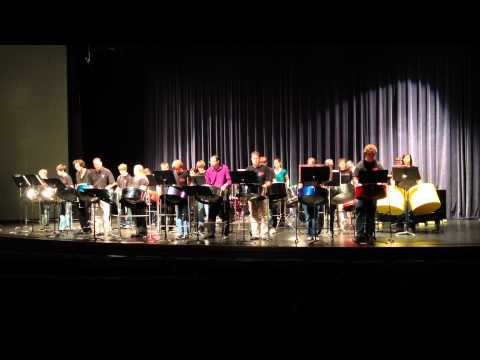 "Haven High School Steel Drum Band Performing ""Pans Gone Wild"" at Wichita State University"