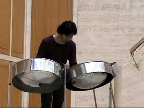 町田良夫 スティールパン演奏 Yoshio Machida Steelpan Improvisation