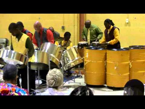 Starlift Steel Orchestra of St. Vincent & The Grenadines in historic New York visit in concert