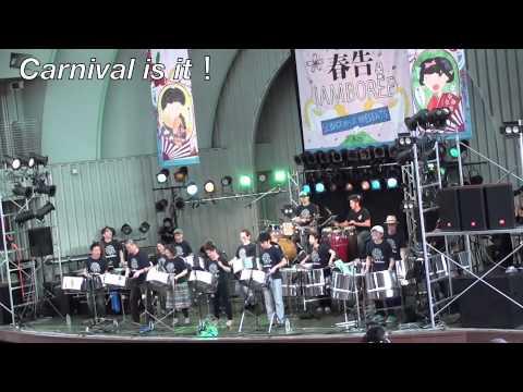 Panorama Steel Orchestra @上野水上野外音楽堂Carnival is it!
