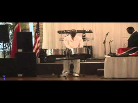 Trinidad and Tobago and U.S. National Anthems on Steel Pan
