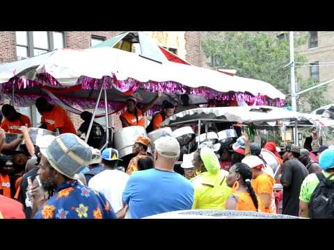 D'Radoes Steel Orchestra - J'Ouvert 2012 in Brooklyn New York