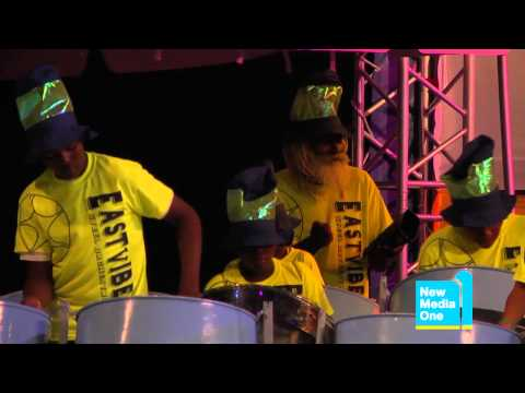 Antigua Panorama 2012: East Vibes Steel Orchestra with 'Jammin''