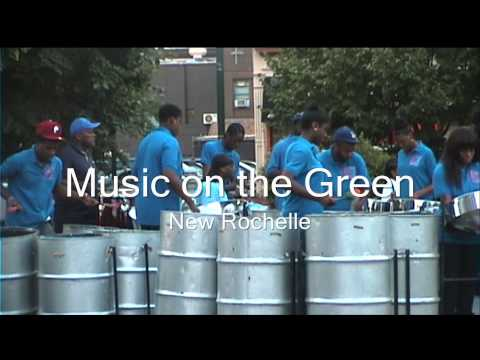 BID Music on the Green 2012 - Pantonic Steel Orchestra
