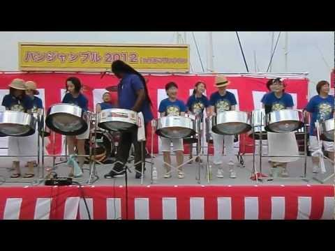 "Sonics Tokyo Steel Orchestra playing Destra's ""Vibes"""