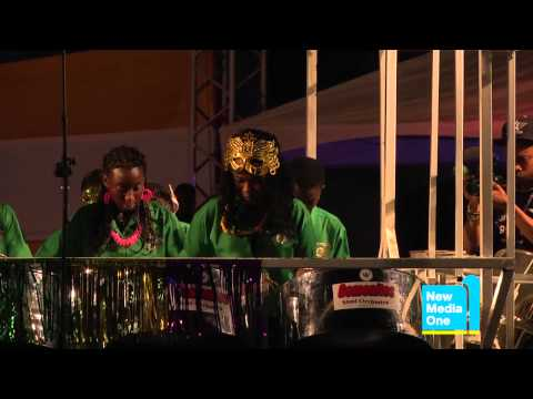 "Antigua Panorama 2012 - Gemonites Steel Orchestra playing ""Jammin'"" by King Short Shirt"