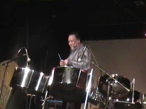 Pan Rising concert.   Robert Greenidge & Ashton Craig