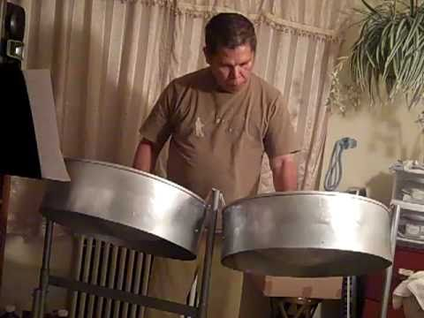 O Holy Night      on steel pan,  played by      Bede Lopez