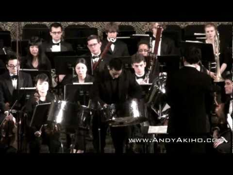 Andy Akiho: Concerto for Steel Pans and Orchestra: Yale School of Music (1-21-11)