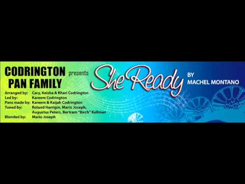 She Ready - Codrington Pan Family steelpan cover - recorded using Indigisounds & PHI