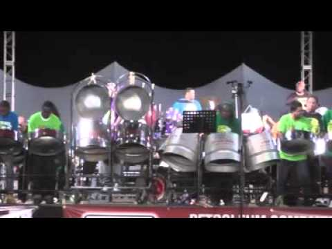 "Southern Marines Steel Orchestra - 2013 Preliminaries performance: Kitchener's ""De Pan In Me"""