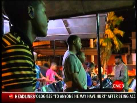 Trinidad All Stars video: preparing for Panorama 2013 - CNC3