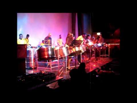 Ebony Steelband - Gloria in Excelsis Deo - Winter Wonderland