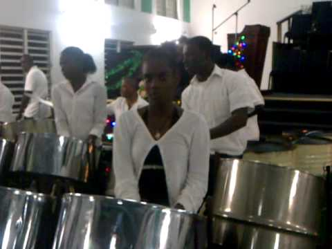 Cayon High Steel Orchestra - St. Kitts at Mount Carmel Baptist Christmas Program