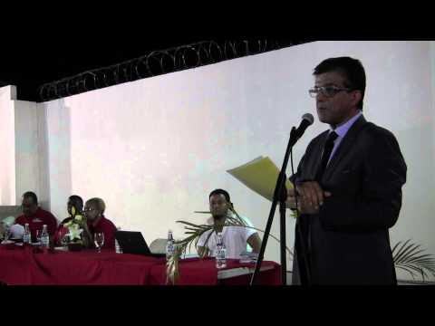 RAMESH LAWRENCE MAHARAJ SC. Meets With PAN PLAYERS of T&T
