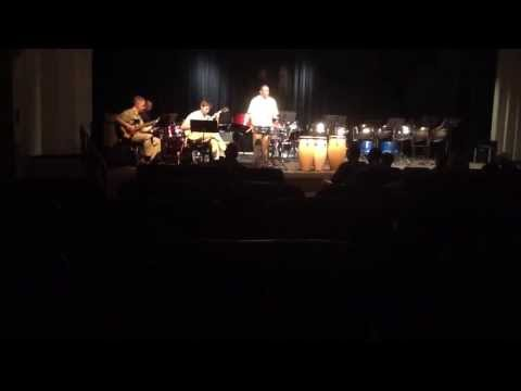 Ricky Micou performing with the NWJC Jazz Faculty