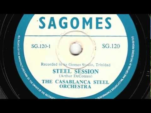 Steel Session [10 inch] - The Casablanca Steel Orchestra