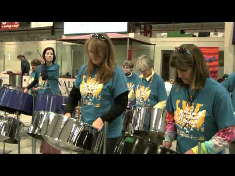 """Peter Gunn"" - Steel Dreams at the New England Steel Drum Festival, 2011"