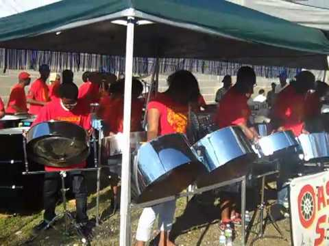 Oasis Youth Steelband performing Michael Jackson's  Rock With You