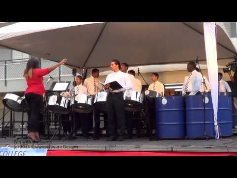 Pan with the Saints - St. Mary's Pan Ensemble