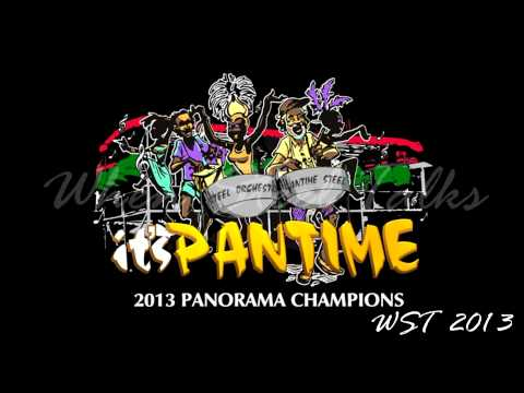 Pantime Steel Orchestra 2013 St. Lucia Panorama Champions