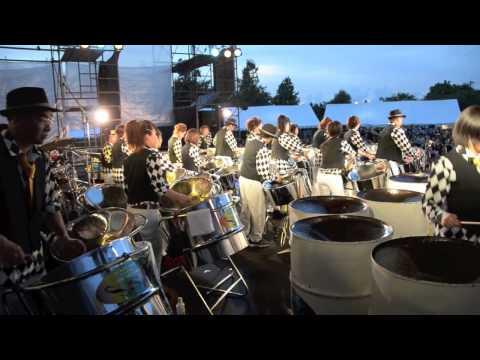 """SUKIYAKI STEEL ORCHESTRA at """"Sukiyaki Meets The World"""" Festival 2013"""