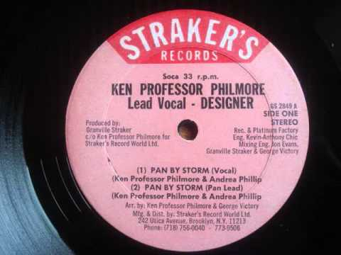 "Pan By Storm - by Ken ""Professor"" Philmore"" - vocals by ""Designer"""