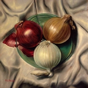 Green Plate Onions