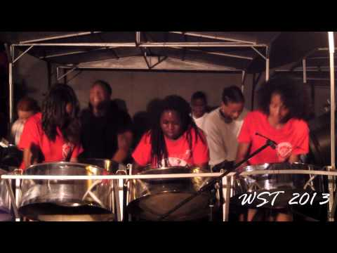 Despers USA Steel Orchestra - Wining Queen - Tempo Version - Basement Yard Recordings 2013