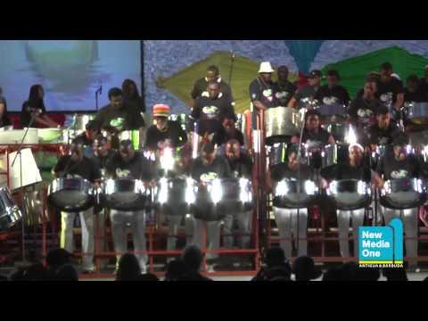 Antigua Carnival 2013: Panorama: Carib Seas Harmonites Steel Orchestra