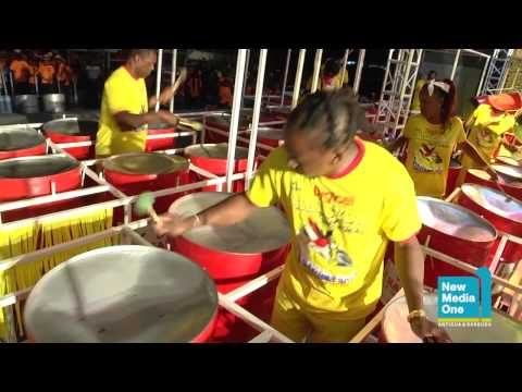 Antigua Carnival 2013: Panorama: Digicel Halcyon Steel Orchestra