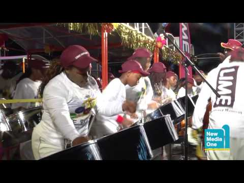 Antigua Carnival 2013: Panorama: Lime Hells Gate Steel Orchestra