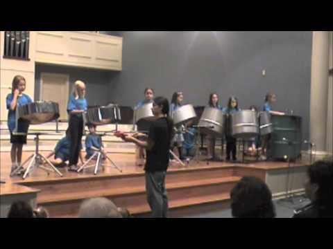 Potts & Pans Steelpan Summer Camp 2013 with Encore Music Academy